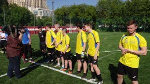 Команда Басманного района примет участие в межрайонном турнире по футболу. Фото: ФК «Dark Raven»