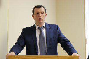 Владимир Говердовский поблагодарил прокуратуру за хорошую работу. Фото: пресс-служба префектуры ЦАО