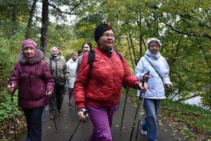 Жители района отправятся в десятикилометровый поход. Фото: Пелагия Замятина, «Вечерняя Москва»