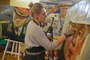 Мастер-класс по акварельной живописи состоится в библиотеке имени Некрасова. Фото: Александр Кожохин, «Вечерняя Москва»