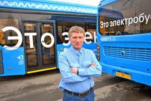 Электробусы начали курсировать в районе. Фото: Александр Кожохин, «Вечерняя Москва»