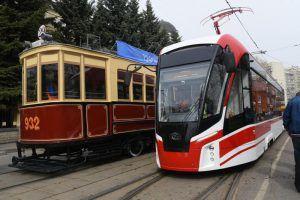 Парад трамваев пройдет на Чистопрудном бульваре. Фото: Владимир Новиков, «Вечерняя Москва»