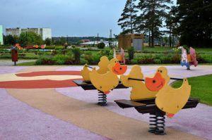 Благоустройство Детского Черкизовского парка планируют завершить к концу июля. Фото: Анна Быкова