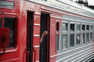 Движение поездов от Москвы до Одинцово было запущено по новому пути. Фото: Анастасия Кирсанова
