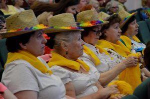 Концерт прошел в районном центре соцобслуживания. Фото: Анна Быкова