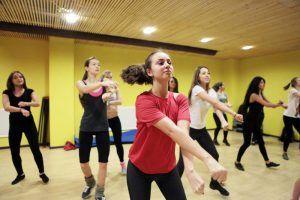 Занятие по танцевальной аэробике проведут в районе. Фото: архив, «Вечерняя Москва»