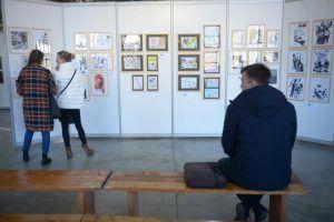 Художественную выставку организуют в библиотеке имени Николая Некрасова. Фото: архив, «Вечерняя Москва»