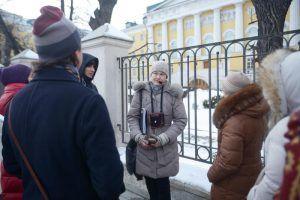 Ученики школы №345 посетили Музей истории Лефортово. Фото: архив, «Вечерняя Москва»
