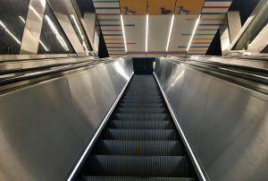 Эскалаторы на станции метро «Курская» отремонтируют. Фото: Анна Быкова