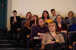 Лекцию о художнике Анри Матиссе прочитали в Музее русского искусства. Фото: Денис Кондратьев