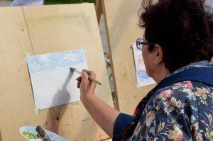 Онлайн-урок рисования проведут в Доме культуры «Гайдаровец». Фото: Анна Быкова, «Вечерняя Москва»
