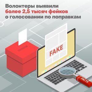 Эксперты Общественной палаты Москвы разоблачили порядка 2,5 тысячи фейков о нарушении процесса голосования
