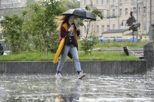 Осадки ожидаются в столице Фото: Пелагия Замятина, «Вечерняя Москва»