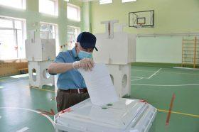 МГИК: В столице начался итоговый день голосования по Конституции. Фото: Пелагия Замятина, «Вечерняя Москва»