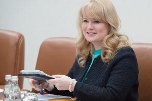 Заместитель мэра Москвы в Правительства Москвы Наталья Сергунина