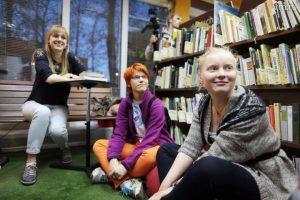 Встречу участников киноклуба организуют сотрудники библиотеки района. Фото: Анна Иванцова, «Вечерняя Москва»