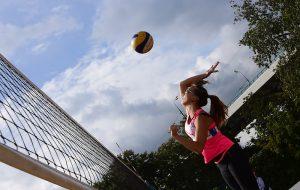 Соревнования по волейболу пройдут в районе. Фото: Антон Гердо, «Вечерняя Москва»