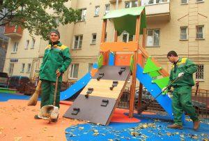 Придомовые территории в районе привели в порядок. Фото: Наталия Нечаева, «Вечерняя Москва»
