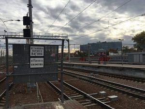 Строительство платформы и вестибюля для пригородных поездов началось на Курском вокзале. Фото: Анна Быкова
