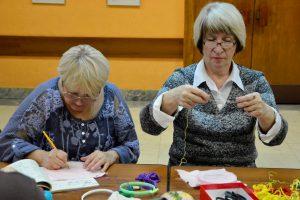 Дистанционный мастер-класс по вышивке организуют сотрудники библиотеки имени Александра Пушкина. Фото: Анна Быкова