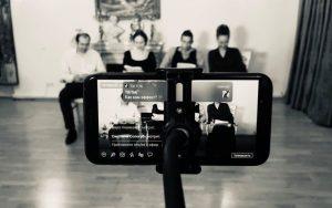 Читку пьес организуют в прямом эфире сотрудники Дома культуры «Гайдаровец». Фото предоставили в Доме культуры «Гайдаровец»