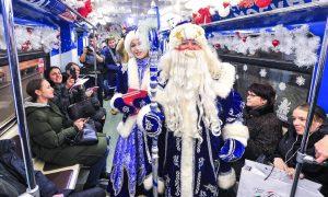 Проезд в метро и МЦК в новогоднюю ночь сделают бесплатным. Фото: сайт мэра Москвы