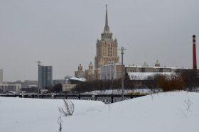 В Москве на несанкционированном митинге начались провокации против полиции. Фото: Анна Быкова