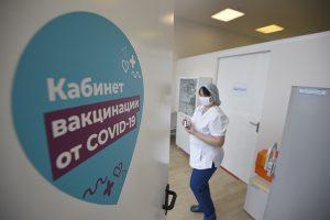 Около миллиона москвичей привились от коронавирусной инфекции. Фото: Пелагия Замятина, «Вечерняя Москва»