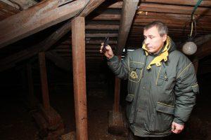 Отселенные здания проверили на соблюдения правил безопасности. Фото: Наталия Нечаева, «Вечерняя Москва»