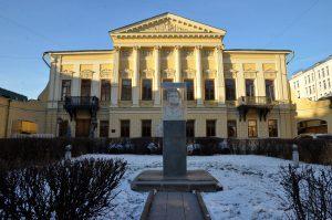 Образовательная программа состоялась в Пушкинской библиотеке. Фото: Анна Быкова