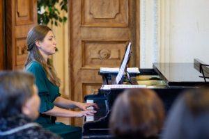 Концертную программу «Музыка любви» показали в Пушкинской библиотеке. Фото предоставили в пресс-службе Пушкинской библиотеки