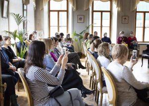 Семинар организовали в Пушкинской библиотеке. Фото предоставили в Пушкинской библиотеки