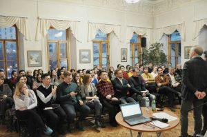 Лекцию прочитали в Пушкинской библиотеке. Фото: предоставили в пресс-службе Пушкинской библиотеке