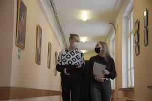 Студенты университета геодезии и картографии смогут привиться от коронавируса. Фото: Пелагия Замятина, «Вечерняя Москва»