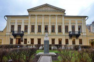 Выставку завершили в Пушкинской библиотеке. Фото: Анна Быкова