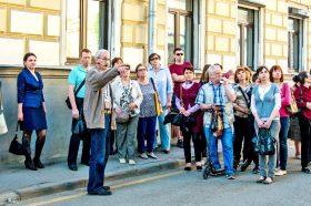 Представители Московского дома национальностей провели пешеходную экскурсию. Фото: сайт мэра Москвы