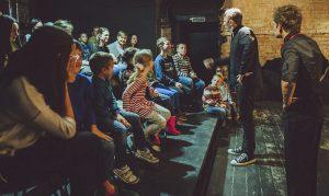 Литературный спектакль состоялся на Доме культуры «Гайдаровец». Фото: сайт мэра Москвы